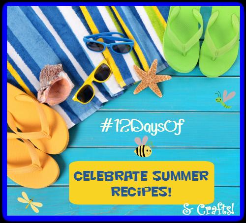 12days summer recipe crafts12 daysof