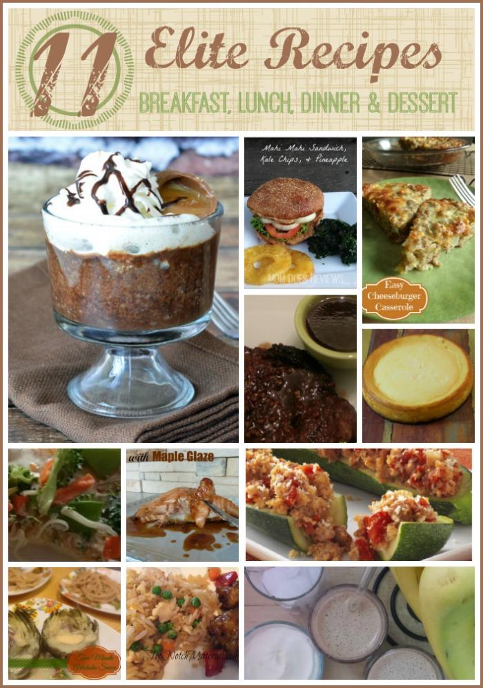 Elite Recipe Favorites #Recipes #MomDoesReviews