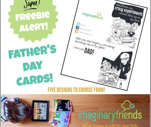 Free Father's Day Cards!  #Freebie Alert #FathersDay