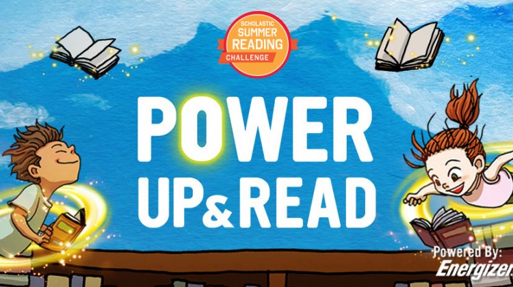 Power up & Read with the Scholastic #SummerReading Challenge! #ad