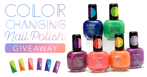 Color Changing Nail Polish #Giveaway ends 8/7 -