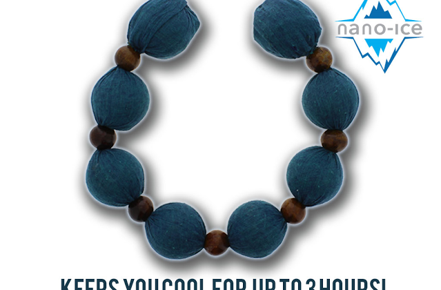 Beat the Heat with Cool Collar- Support on #Kickstarter #CoolCollar