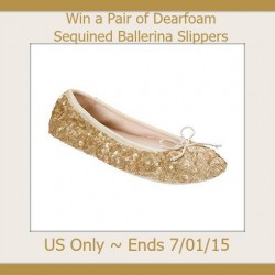 dearfoam seq slippers giveaway