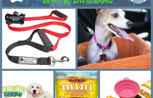 "5 Favorite Fido Finds for ""Take your Dog to Work Day"" - Friday 6/26"