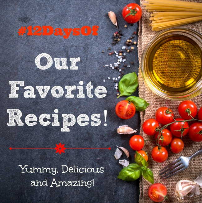 12daysof fav recipes