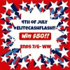 4th july flash $50