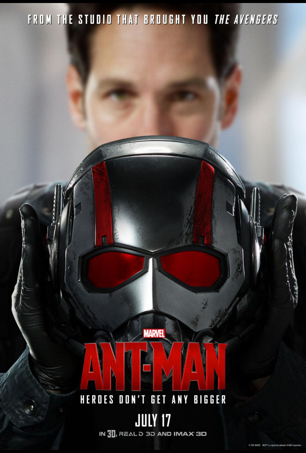 Ant-Man is NOW PLAYING