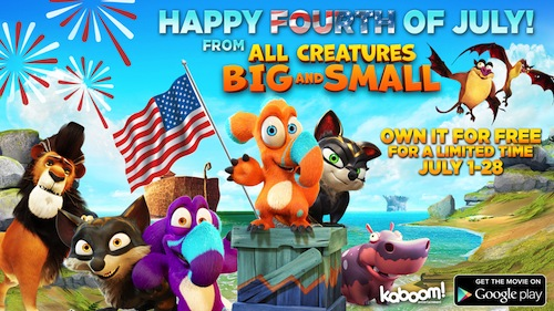 Creatures Big & Small FREEBIE #FreeMovie