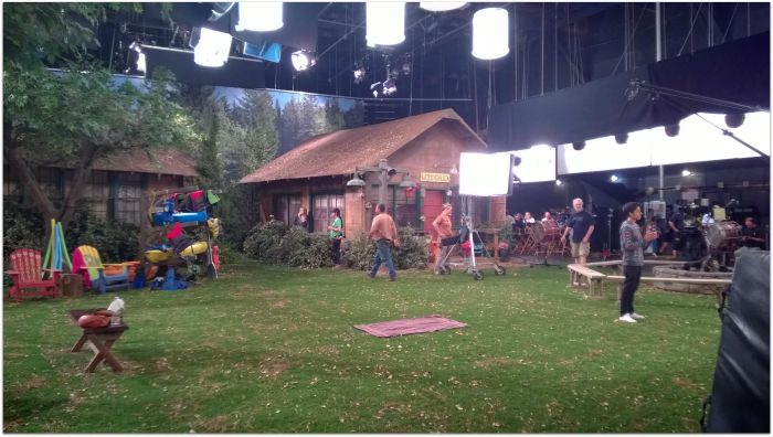The Great Lawn on the Bunk'd Set