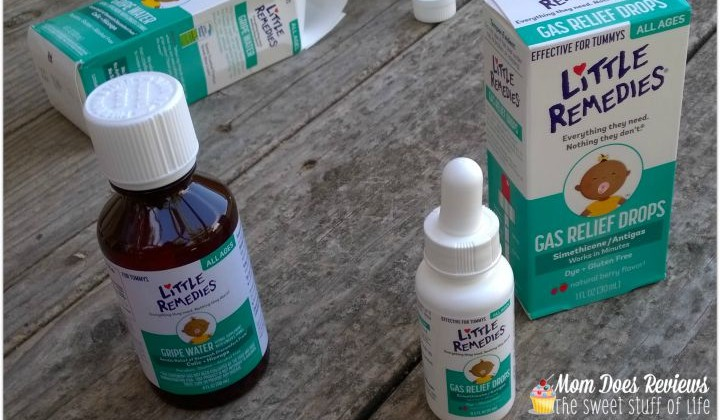 Gassy Baby Solutions with #LittleRemedies #IC #Ad