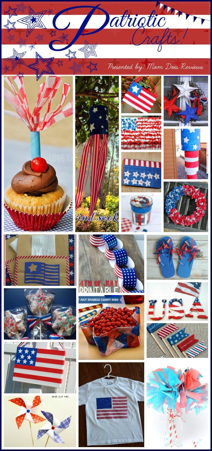 Patriotic Holiday Crafts