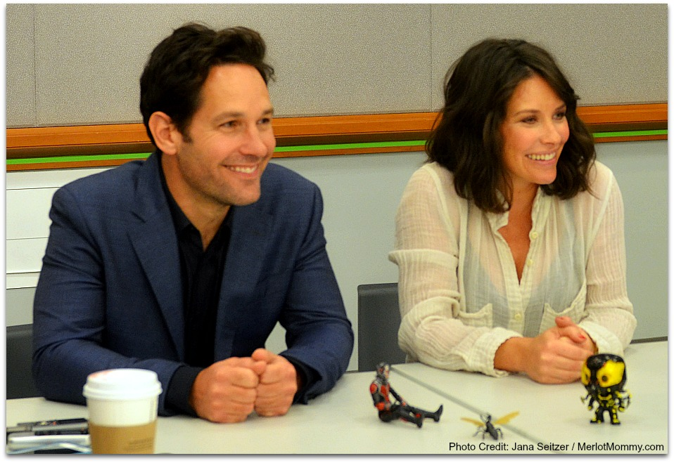 Exclusive Interview with Paul Rudd and Evangeline Lilly #AntManEvent