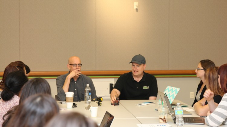 Peyton Reed & Kevin Feige Interview with Mom Does Reviews #SpoilerAlert