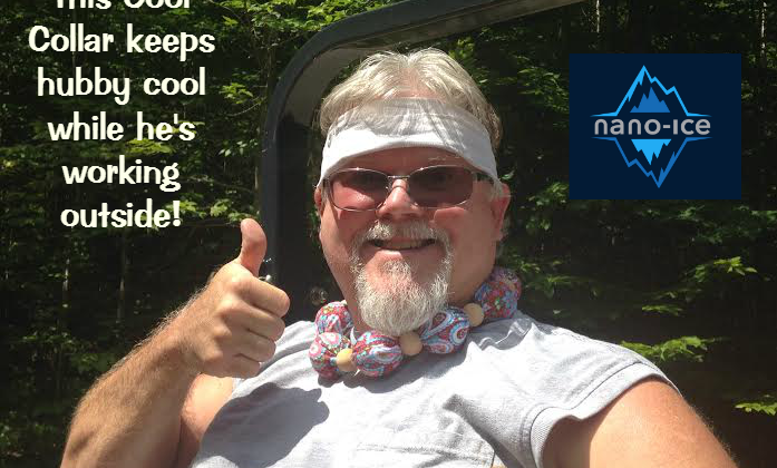 Freezer-Charged Cool Collar by Nano Ice #Review #SizzlingSummer
