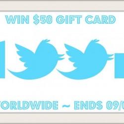 100k twitter giveaway kristin