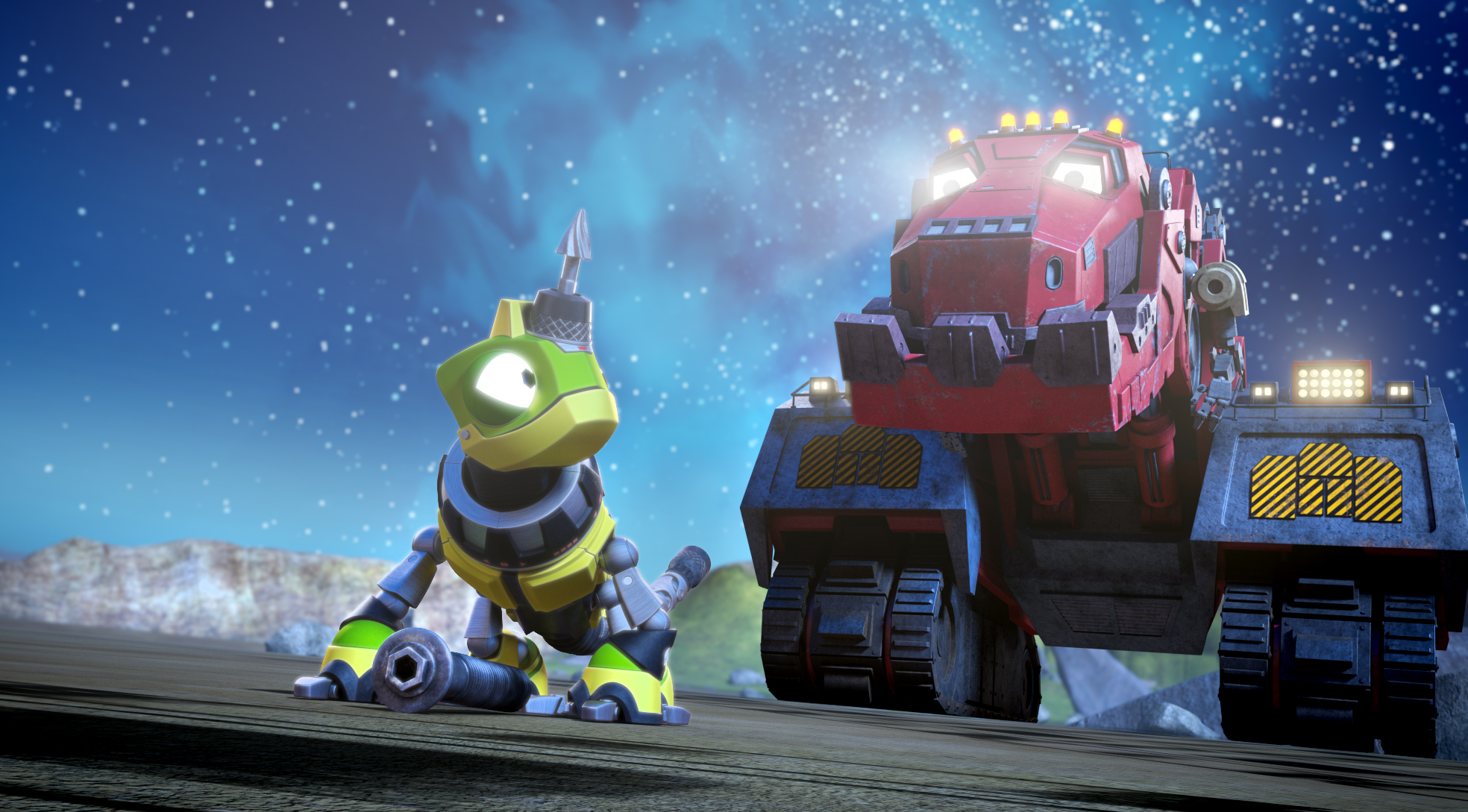 Dinotrux - a Netflix Original Series from DreamWorks Animation