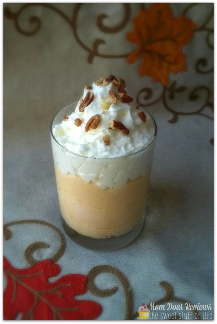Decadent Pumpkin Pudding #Recipe #MomDoesReviews