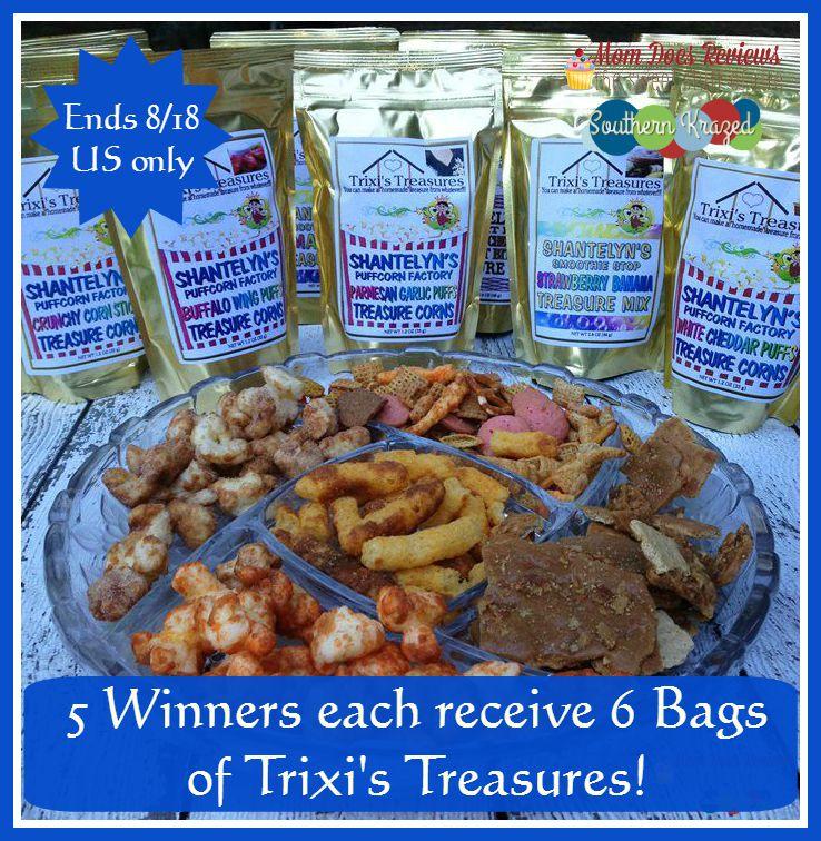 Trixie's Treasures 5 button 8 18