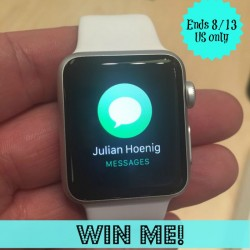 apple watch new giveaway