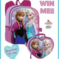 frozen backpack with lunchbox giveaway