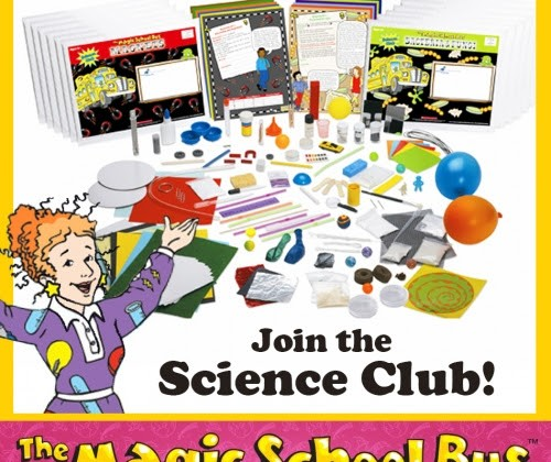 Magic School Bus Science Club- Get Science Experiments Delivered to your Home! #educents #ad