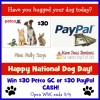 nat dog day $30 giveaway 9 4