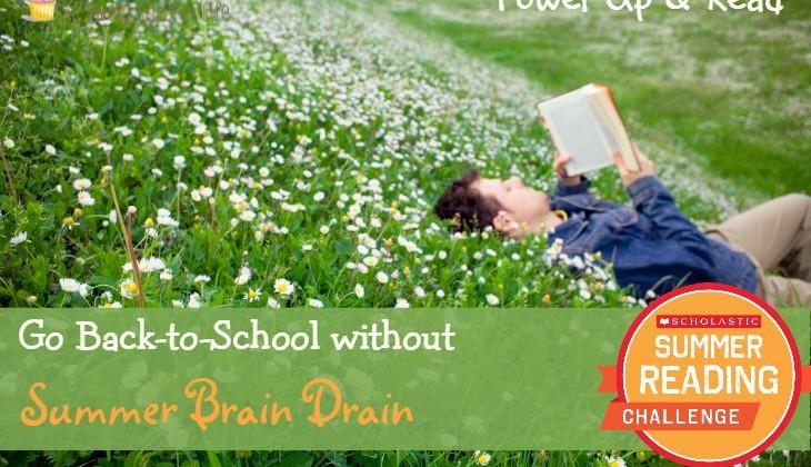 Go #BacktoSchool without Summer Brain Drain!  #SummerReading #Ad