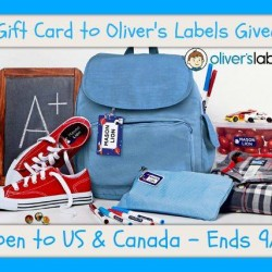 olivers labels giveaway