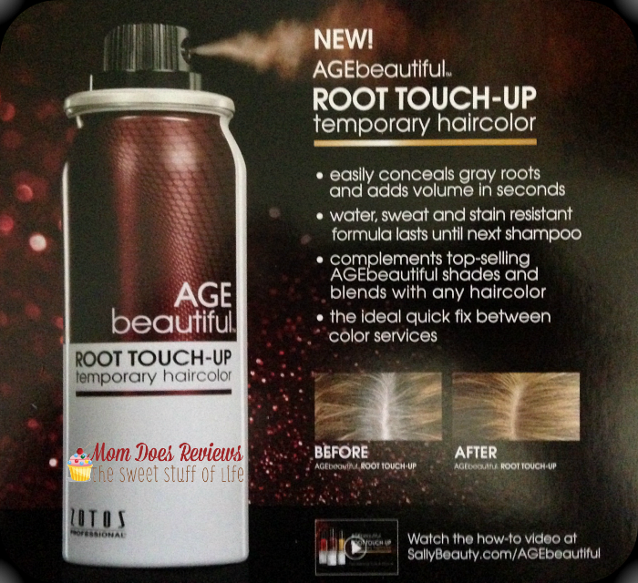 AGEbeautiful #Hair color and Root Touch Up #AGEbeautifully -