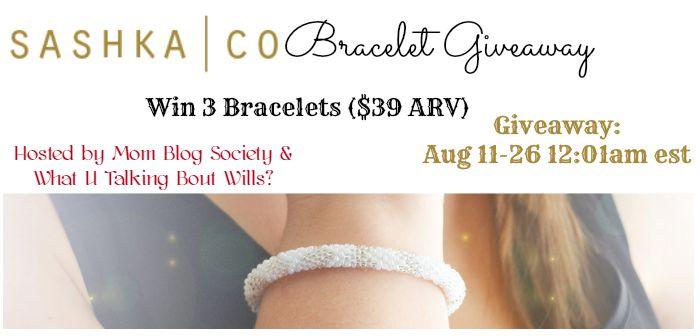 sashka bracelet giveaway