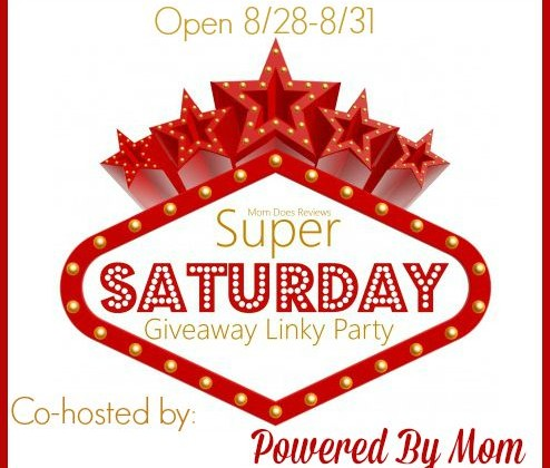 Super Saturday #giveaway Linky Party LIVE all Weekend- 8/28-8/31
