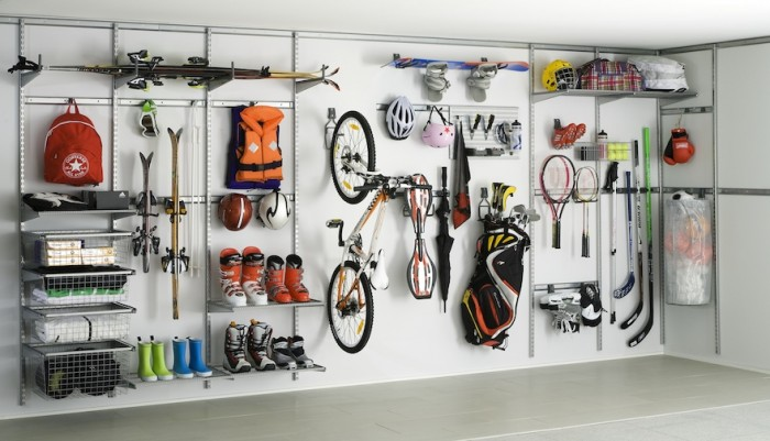 4 Clever Ways to #Organize Your Garage for Maximum