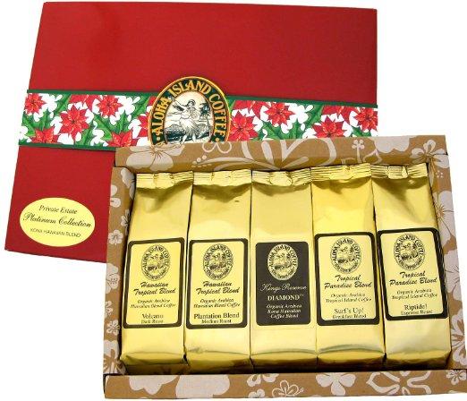 Hawaiian-Coffee-Gift-Basket