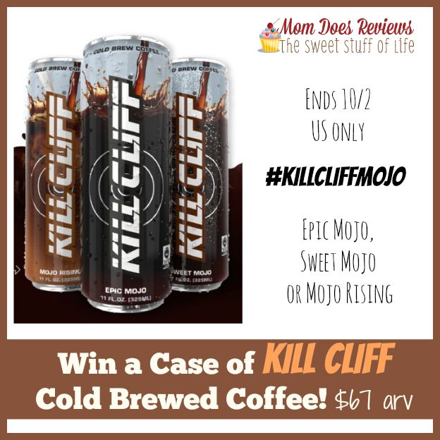 Kill Cliff coffee giveaway