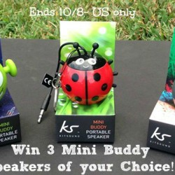 Kitsound Mini buddy Speaker win 1