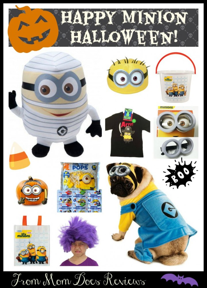 10 Terrific Finds for a Minion-Inspired #Halloween -