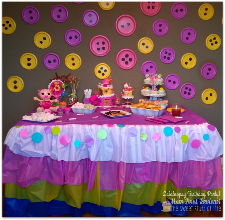 How to host the ultimate Lalaloopsy Birthday Party! #Review #Tutorial #Crafts #  sc 1 st  Mom Does Reviews & Throw the Ultimate Lalaloopsy Party! #SuperSillyParty #BirthdayParty ...