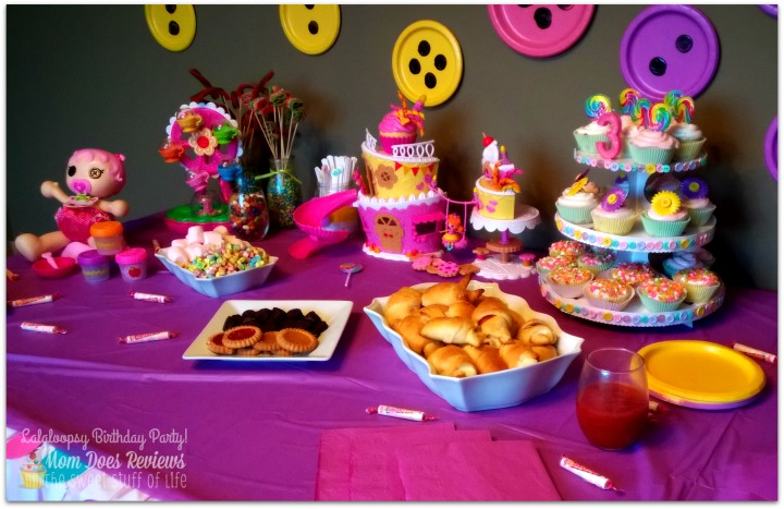 How to host the ultimate Lalaloopsy Birthday Party! #Review #Tutorial #Crafts # & Throw the Ultimate Lalaloopsy Party! #SuperSillyParty #BirthdayParty ...