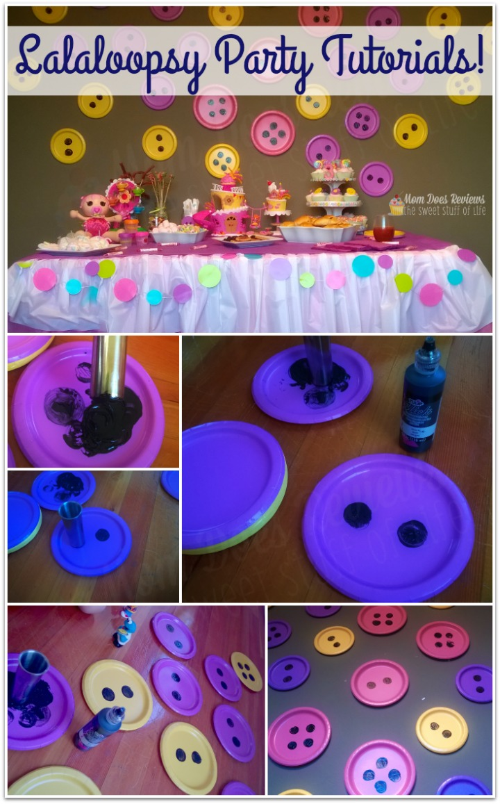 How to host the ultimate Lalaloopsy Birthday Party! #Review #Tutorial #Crafts #  sc 1 st  Mom Does Reviews & Lalaloopsy Birthday Party Decorations Tutorial #SuperSillySurprises ...
