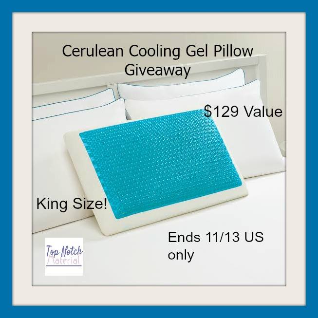 Win A Cooling Gel Pillow 129 Arv Us Ends 11 13