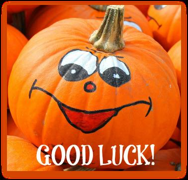 pumpkins good luck