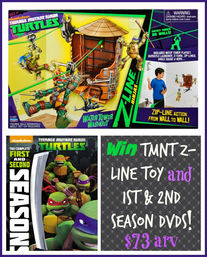 Warriors The New Prophecy Set The Complete Second Series: #TMNT DVD And Z-Line Toy #Review And #Giveaway Ends 10/19