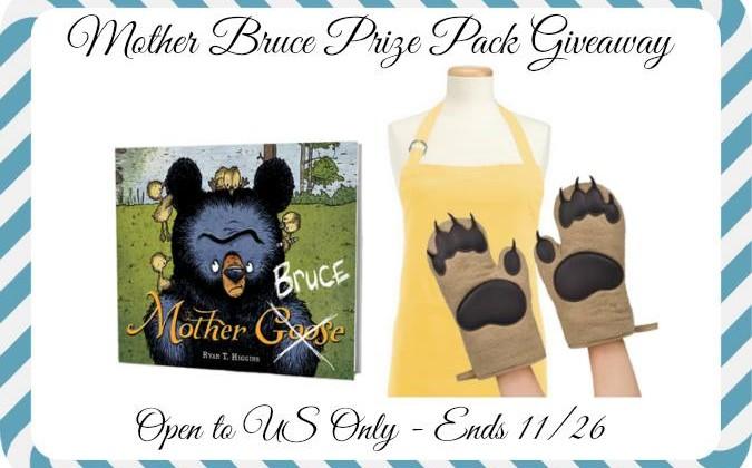 Mother Bruce Children's Book Prize Pack #Giveaway Ends 11/27 #FollowBruce