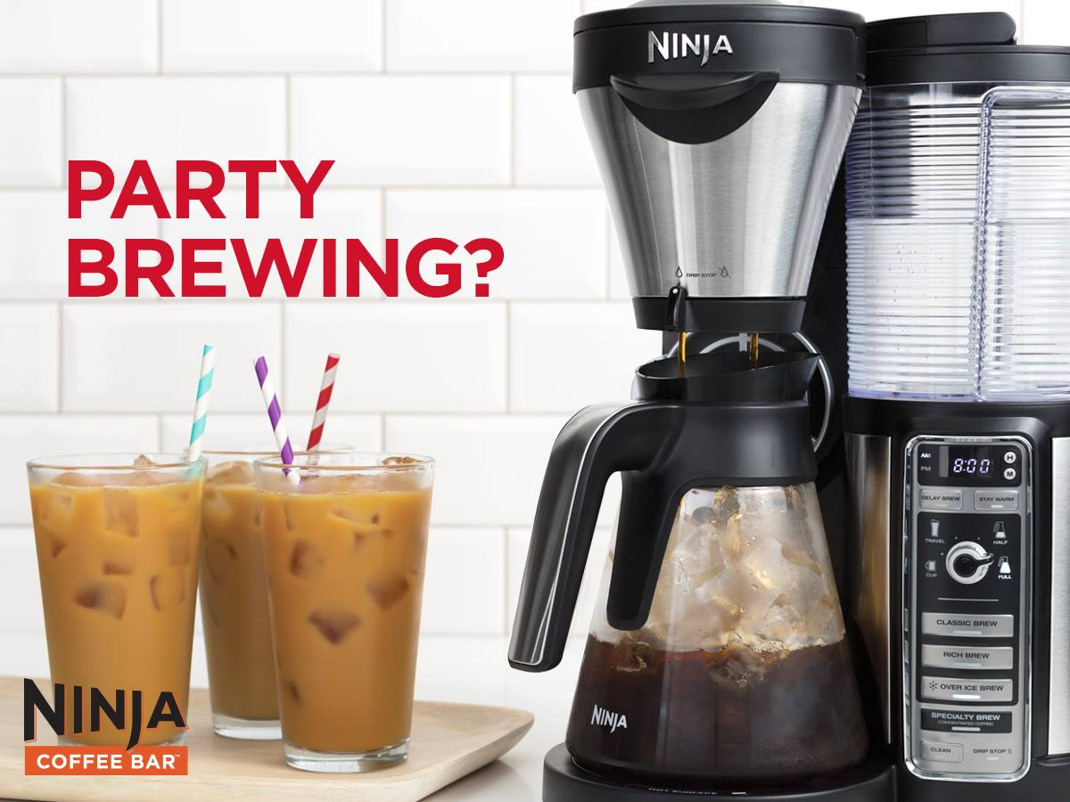 Does Ninja Coffee Maker Use K Cups : Hosting During The Holidays With The Ninja Coffee Bar #Review #ChristmasMDR15