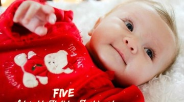 5 Holiday adorable Fashion