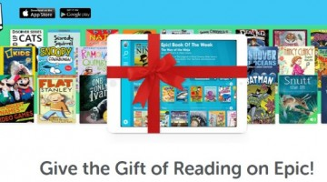 Give the Gift of Reading on Epic!