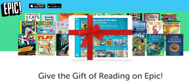 Epic! Books for Kids IS EPIC #AppReview #MDRChristmas15 #Reading