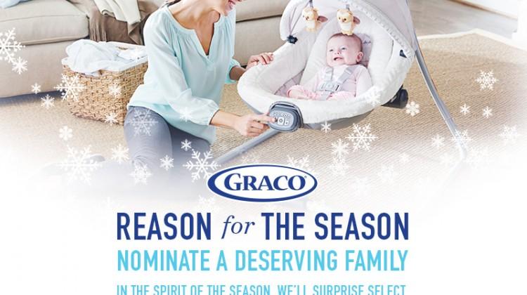 Graco Reason for the Season Nominate a Deserving Family