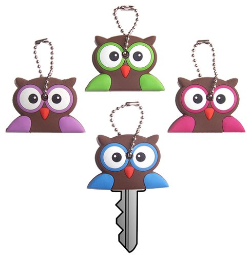 Owl Gift Stocking Stuffer Key Cover