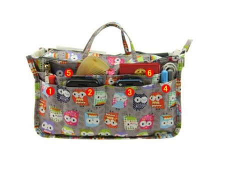 Owl Multifunctional Bag for Organizing, Traveling, Beauty Products, Diaper Bag WHATEVER you need it for!